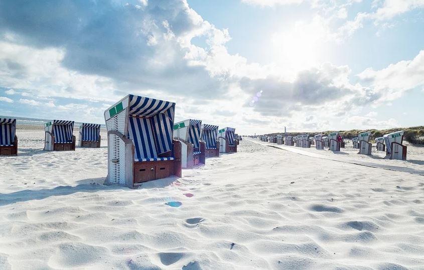 Strandatmosphäre für daheim - Entspannung und Erholung im Strandkorb